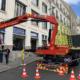 Pose de vitrine feuilletée, remplacement de vitrage pour local commercial Happy Cash au centre-ville de Nantes (44) - Menuiserie Miroiterie Nantaise - Dépannage en vitrerie et miroiterie à Nantes et Ancenis en Loire-Atlantique (44)