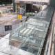 Remplacement de vitrage sur une verrière à la Gare Sud de Nantes (44) - Menuiserie Miroiterie Nantaise - Dépannage en vitrerie et miroiterie à Nantes et Ancenis en Loire-Atlantique (44)
